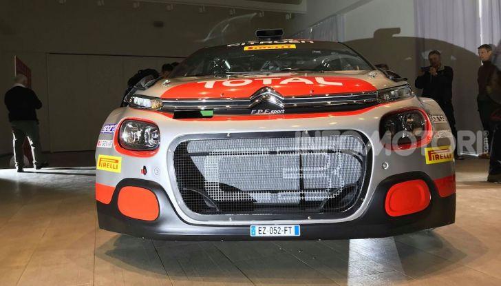 Citroen C3 R5: ecco l'auto che partecipa al Campioanto Italiano Rally 2019 - Foto 1 di 13