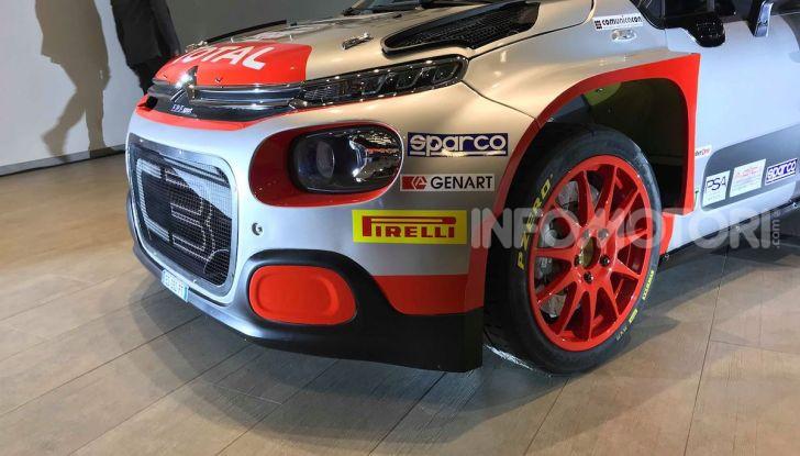 Citroen C3 R5: ecco l'auto che partecipa al Campioanto Italiano Rally 2019 - Foto 13 di 13
