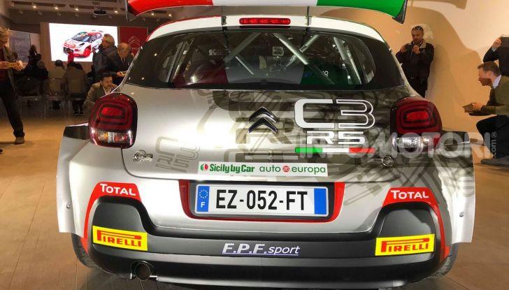 Citroen C3 R5: ecco l'auto che partecipa al Campioanto Italiano Rally 2019 - Foto 2 di 13