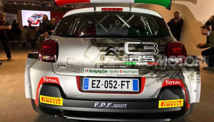 Citroen C3 R5: ecco l'auto che partecipa al Campioanto Italiano Rally 2019 - Foto 9 di 13