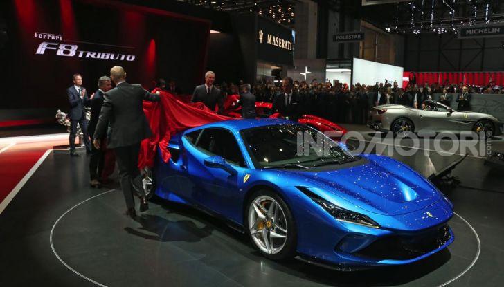 Ferrari F8 Tributo, berlinetta a motore centrale-posteriore - Foto 20 di 20