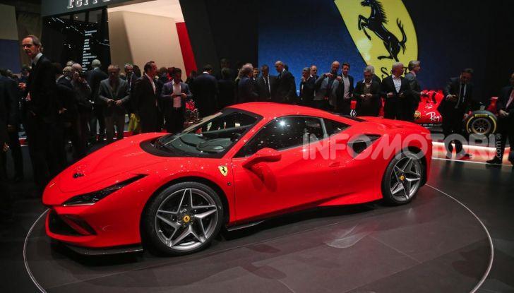 Ferrari F8 Tributo, berlinetta a motore centrale-posteriore - Foto 7 di 20