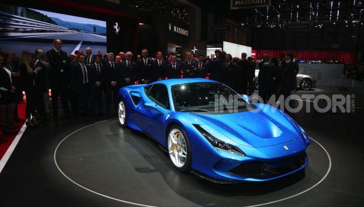 Ferrari F8 Tributo, berlinetta a motore centrale-posteriore - Foto 10 di 20