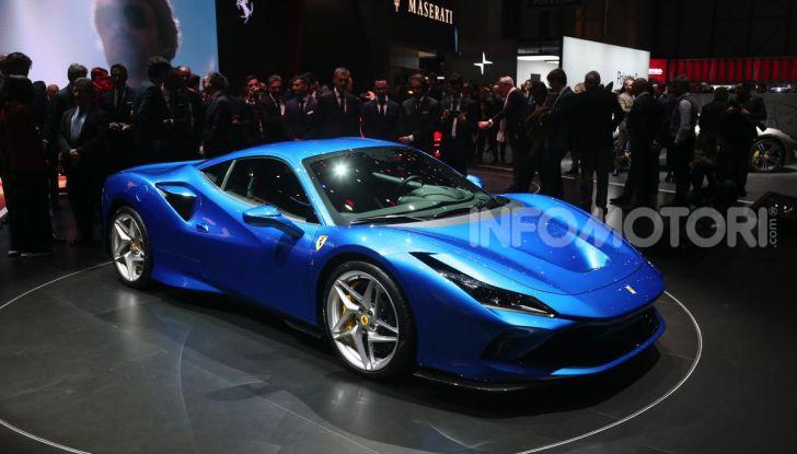 Ferrari F8 Tributo, berlinetta a motore centrale-posteriore - Foto 12 di 20