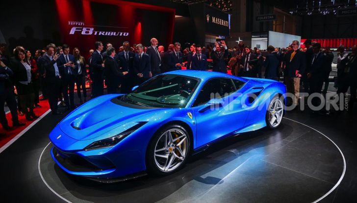 Ferrari F8 Tributo, berlinetta a motore centrale-posteriore - Foto 2 di 20