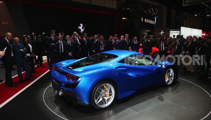 Ferrari F8 Tributo, berlinetta a motore centrale-posteriore - Foto 13 di 20