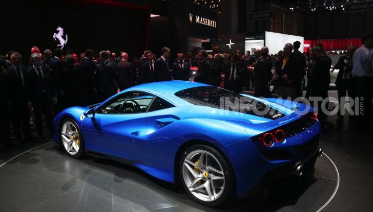 Ferrari F8 Tributo, berlinetta a motore centrale-posteriore - Foto 14 di 20