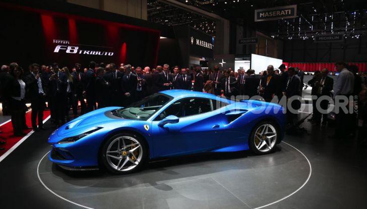 Ferrari F8 Tributo, berlinetta a motore centrale-posteriore - Foto 15 di 20