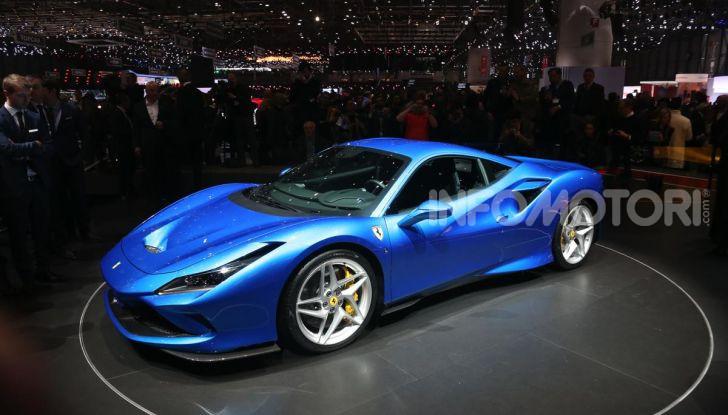 Ferrari F8 Tributo, berlinetta a motore centrale-posteriore - Foto 4 di 20