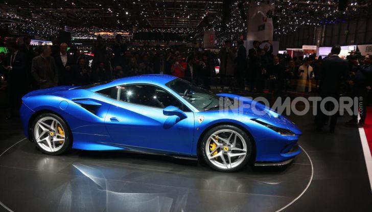 Ferrari F8 Tributo, berlinetta a motore centrale-posteriore - Foto 5 di 20