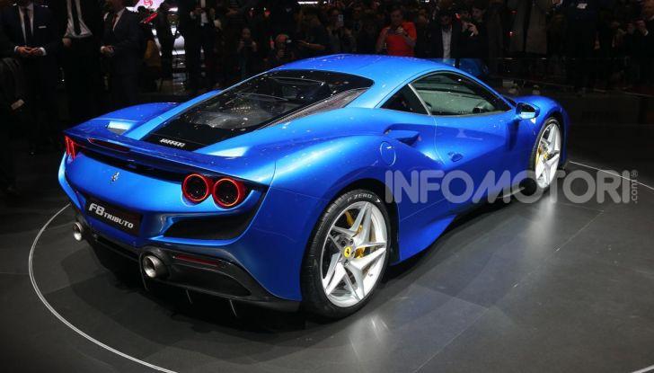 Ferrari F8 Tributo, berlinetta a motore centrale-posteriore - Foto 6 di 20