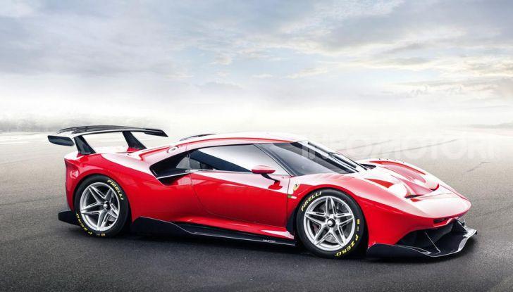Ferrari P80/C: la one-off di Maranello per abbattere i limiti della tecnica - Foto 10 di 14