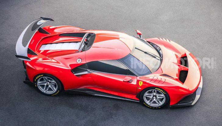 Ferrari P80/C: la one-off di Maranello per abbattere i limiti della tecnica - Foto 9 di 14