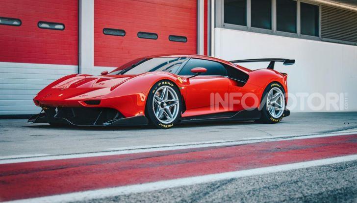 Ferrari P80/C: la one-off di Maranello per abbattere i limiti della tecnica - Foto 3 di 14