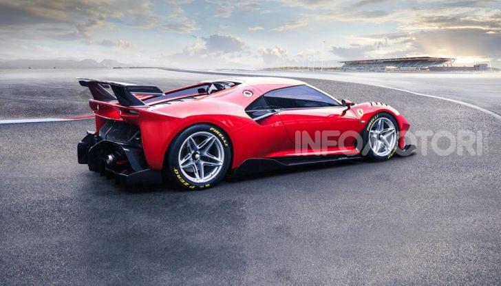 Ferrari P80/C: la one-off di Maranello per abbattere i limiti della tecnica - Foto 11 di 14