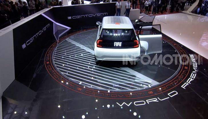Fiat Centoventi: la citycar italiana elettrica del Less is More! - Foto 37 di 40