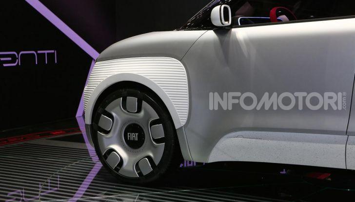 Fiat Centoventi: la citycar italiana elettrica del Less is More! - Foto 13 di 40