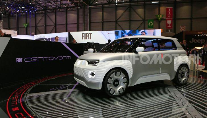 Fiat Centoventi: la citycar italiana elettrica del Less is More! - Foto 16 di 40