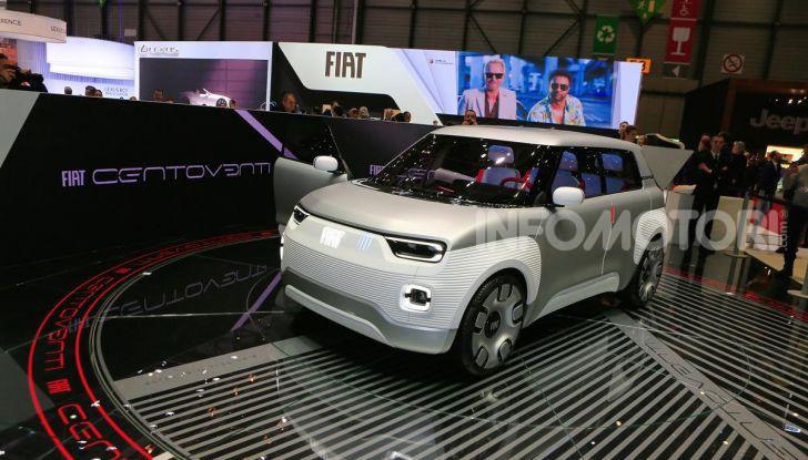 Fiat Centoventi: la citycar italiana elettrica del Less is More! - Foto 17 di 40