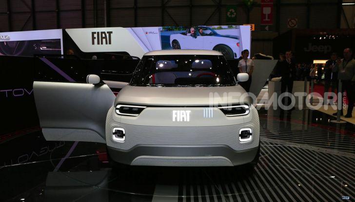 Fiat Centoventi: la citycar italiana elettrica del Less is More! - Foto 20 di 40