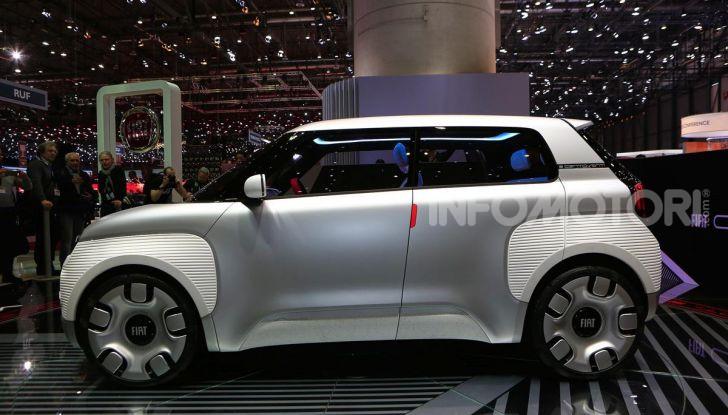 Fiat Centoventi: la citycar italiana elettrica del Less is More! - Foto 3 di 40