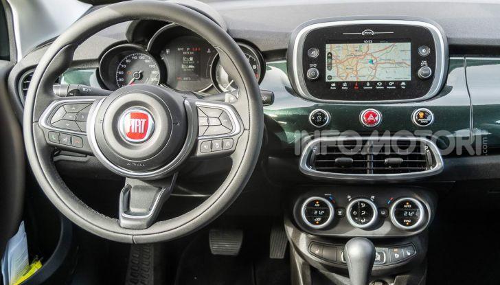 Fiat 500X 2019 interni