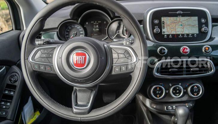 Prova Fiat 500X 1.3 T4 FireFly DCT 2019: Più prestazioni, meno consumi - Foto 25 di 41