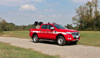Ford Ranger in dotazione al Corpo Nazionale dei Vigili del Fuoco