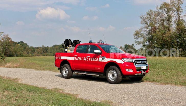 Ford Ranger in dotazione al Corpo Nazionale dei Vigili del Fuoco - Foto 1 di 5