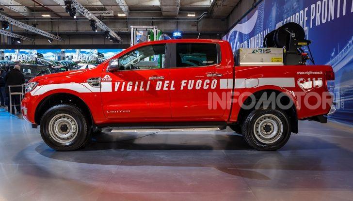 Ford Ranger in dotazione al Corpo Nazionale dei Vigili del Fuoco - Foto 5 di 5
