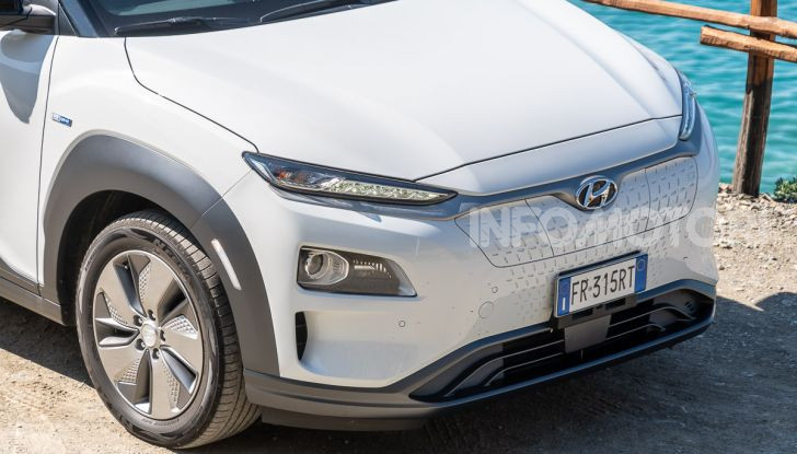 Hyundai Kona Electric: il suo valore residuo cresce del 6,4% - Foto 1 di 46