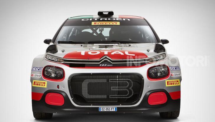 Citroën pronta per il debutto stagionale della Nuova C3 R5 al Rally de Il Ciocco - Foto 4 di 6