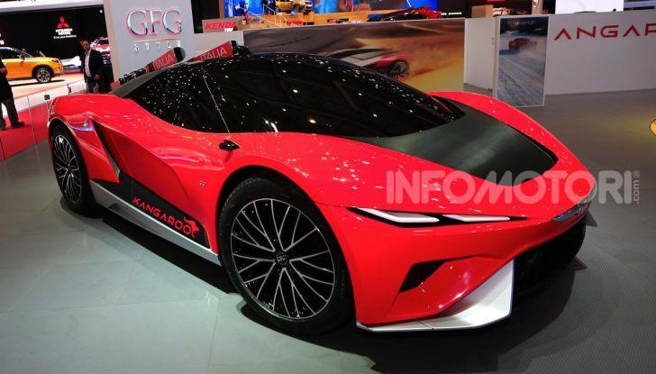 CH-Auto Kangaroo, il SUV elettrico dei Giugiaro per la Cina - Foto 11 di 21