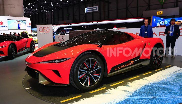 CH-Auto Kangaroo, il SUV elettrico dei Giugiaro per la Cina - Foto 15 di 21
