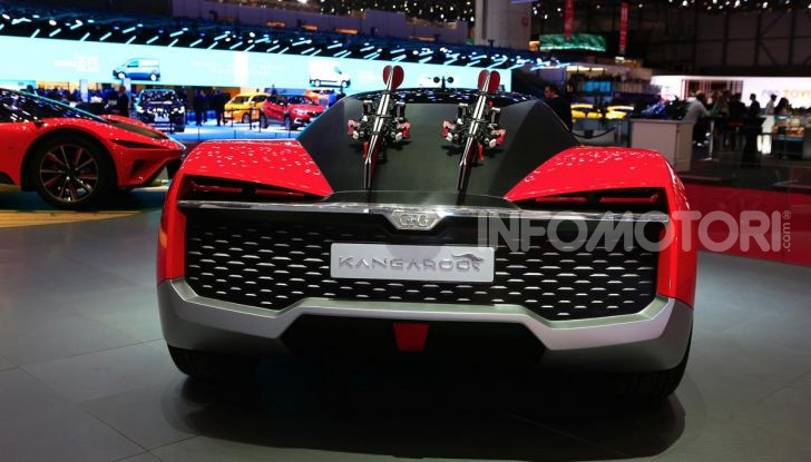 CH-Auto Kangaroo, il SUV elettrico dei Giugiaro per la Cina - Foto 8 di 21