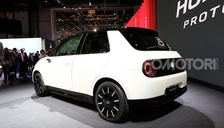 Honda E: la nuova city car per il mercato europeo - Foto 11 di 13