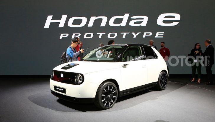 Honda E: la nuova city car per il mercato europeo - Foto 13 di 13