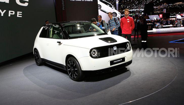 Honda E: la nuova city car per il mercato europeo - Foto 5 di 13