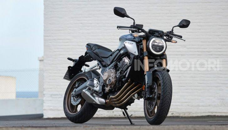 Prova su strada Honda CB650R e CBR650R 2019, caratteristiche, prezzi ed opinioni - Foto 1 di 78