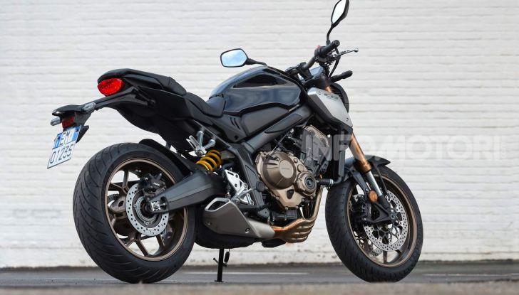 Prova su strada Honda CB650R e CBR650R 2019, caratteristiche, prezzi ed opinioni - Foto 2 di 78