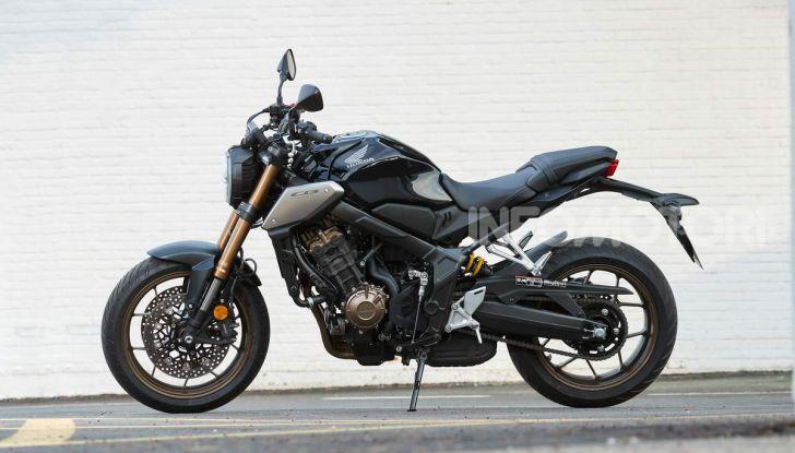 Prova su strada Honda CB650R e CBR650R 2019, caratteristiche, prezzi ed opinioni - Foto 4 di 78