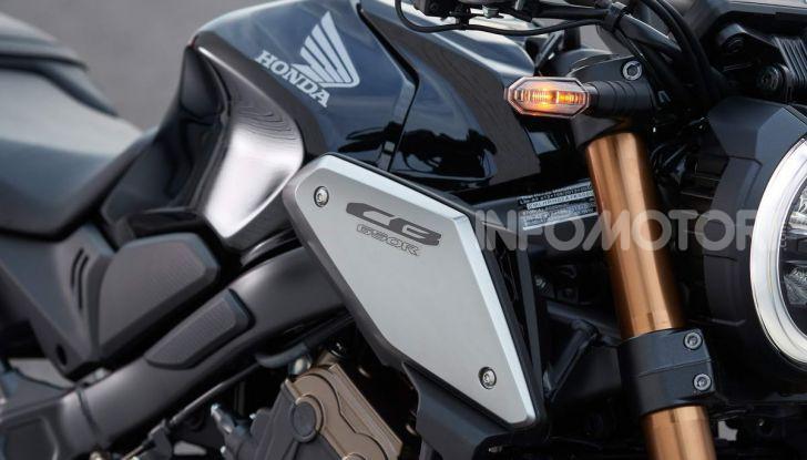 Prova su strada Honda CB650R e CBR650R 2019, caratteristiche, prezzi ed opinioni - Foto 6 di 78