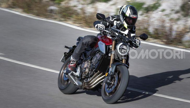 Prova su strada Honda CB650R e CBR650R 2019, caratteristiche, prezzi ed opinioni - Foto 14 di 78