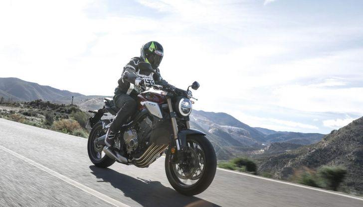 Prova su strada Honda CB650R e CBR650R 2019, caratteristiche, prezzi ed opinioni - Foto 18 di 78