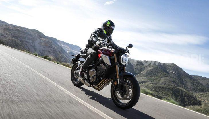 Prova su strada Honda CB650R e CBR650R 2019, caratteristiche, prezzi ed opinioni - Foto 19 di 78