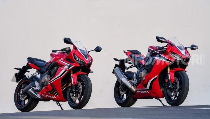 Prova su strada Honda CB650R e CBR650R 2019, caratteristiche, prezzi ed opinioni - Foto 37 di 78