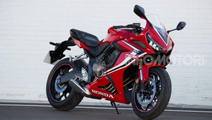 Prova su strada Honda CB650R e CBR650R 2019, caratteristiche, prezzi ed opinioni - Foto 41 di 78