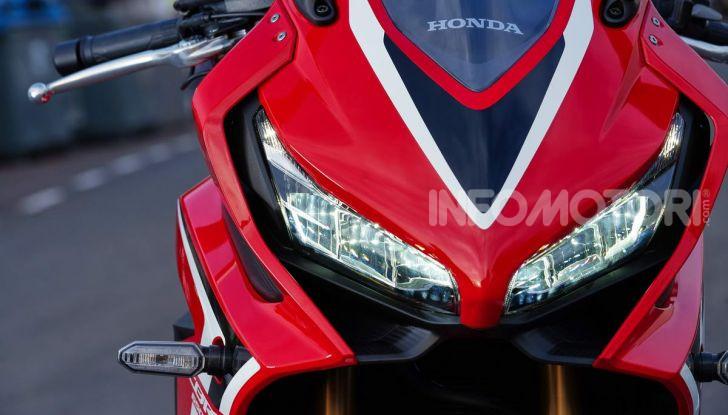 Prova su strada Honda CB650R e CBR650R 2019, caratteristiche, prezzi ed opinioni - Foto 48 di 78