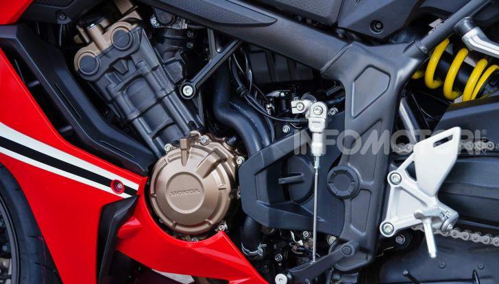 Honda CBR650R CB650R motore
