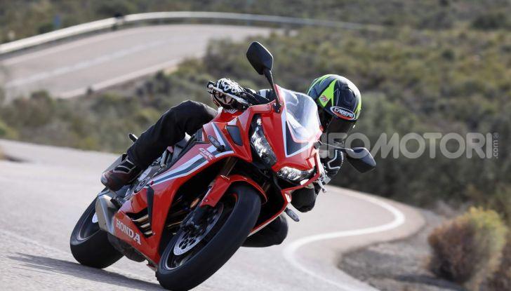 Prova su strada Honda CB650R e CBR650R 2019, caratteristiche, prezzi ed opinioni - Foto 54 di 78